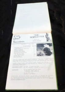 Cacti & Other Succulents - Issue No. 1 May 1989