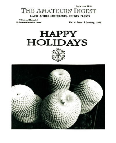 Happy Holidays from The Amateurs' Digest